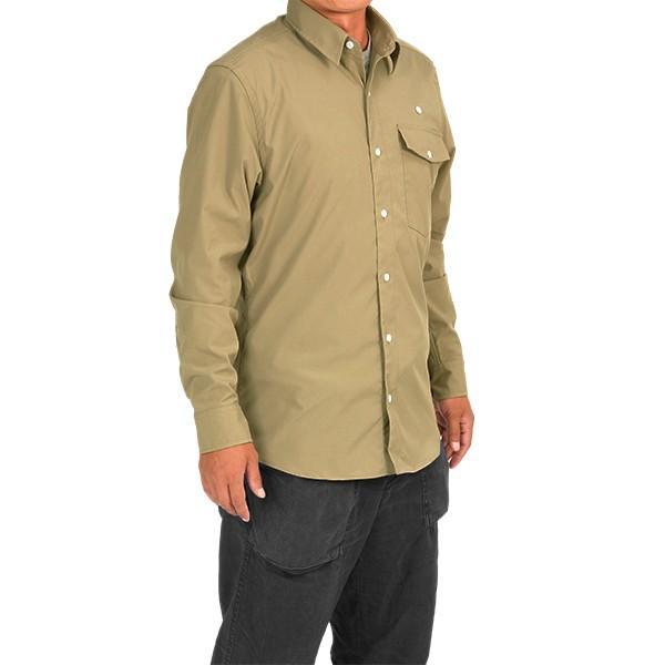 ウエスタンライズ WESTERN RISE Teckロングスリーブシャツ タン A&F直営店別注モデル|aandfshop|07