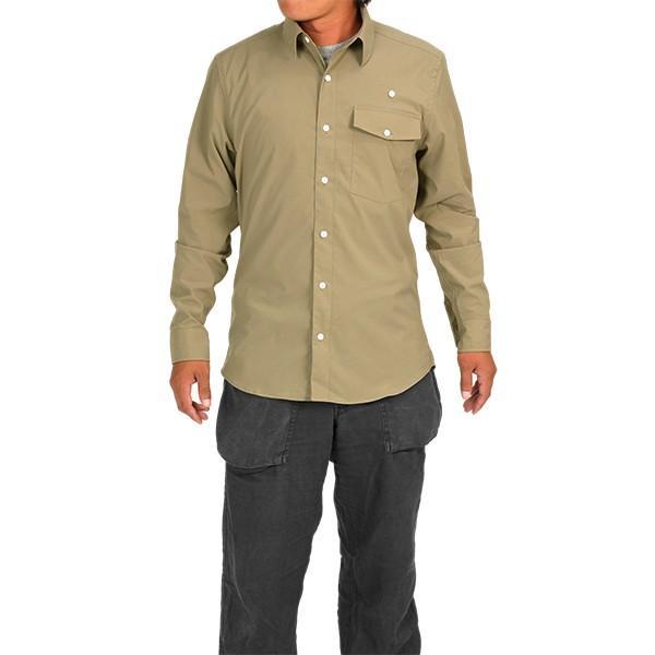 ウエスタンライズ WESTERN RISE Teckロングスリーブシャツ タン A&F直営店別注モデル|aandfshop|08