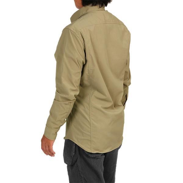 ウエスタンライズ WESTERN RISE Teckロングスリーブシャツ タン A&F直営店別注モデル|aandfshop|10