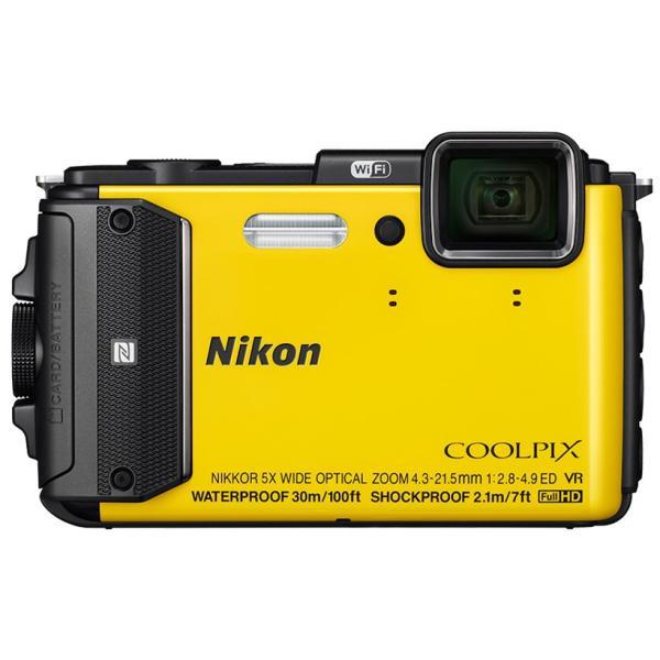 Nikon(ニコン) デジタルカメラ COOLPIX AW130 イエロー YW