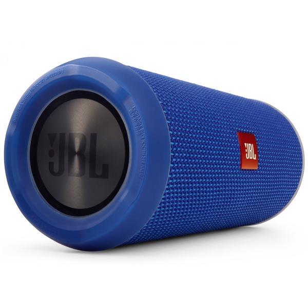 JBL FLIP3 Bluetoothスピーカー IPX5防水機能 ブルー JBLFLIP3BLUEの画像