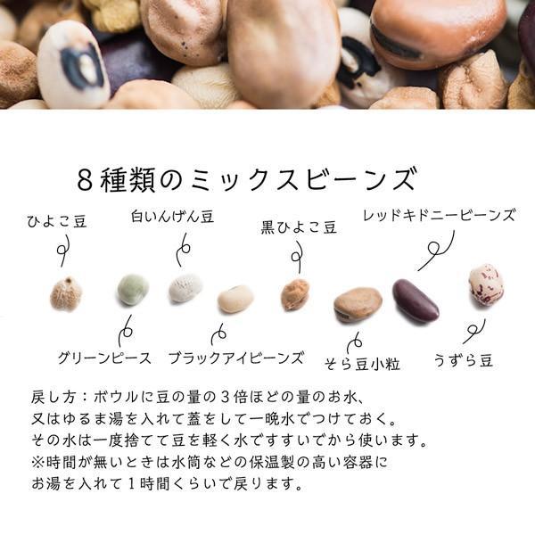ミックスビーンズ 1kg 乾燥豆 ミックス 豆 送料無料|aarti-japan|02