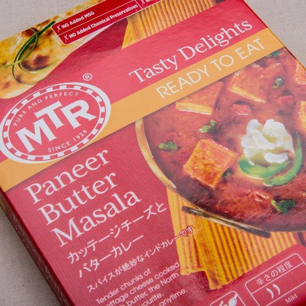 MTR パニールバターマサラ Panner Butter Masala 300g 1袋【2人前】
