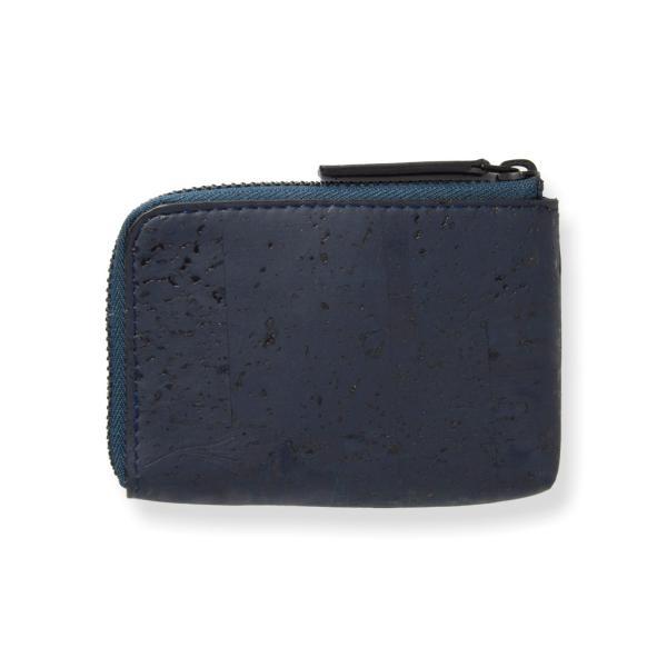 コインケース 青 コルク製 ビーガン 一年保証|aasha-shop|03