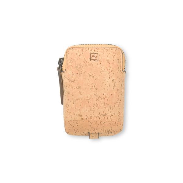 キーケース ナチュラルカラー コルク製 ビーガン 一年保証|aasha-shop