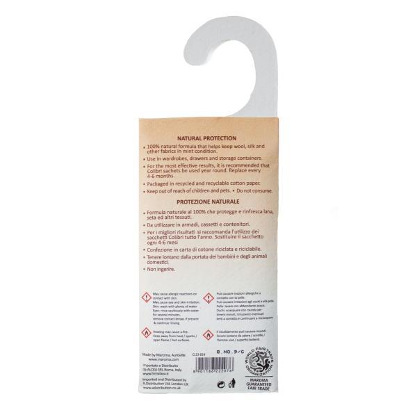 防虫剤 天然成分100% 吊るすタイプ 26g|aasha-shop|07