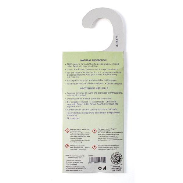 防虫剤 天然成分100% 吊るすタイプ 26g|aasha-shop|03