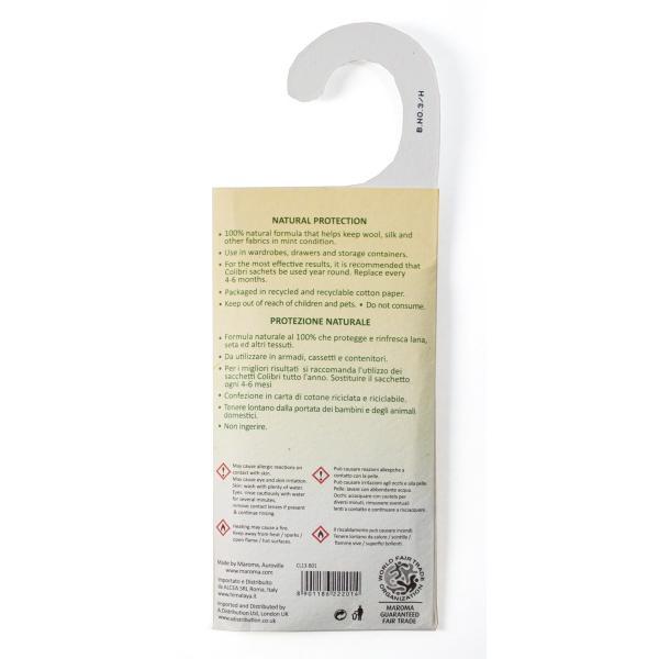防虫剤 天然成分100% 吊るすタイプ 26g|aasha-shop|05