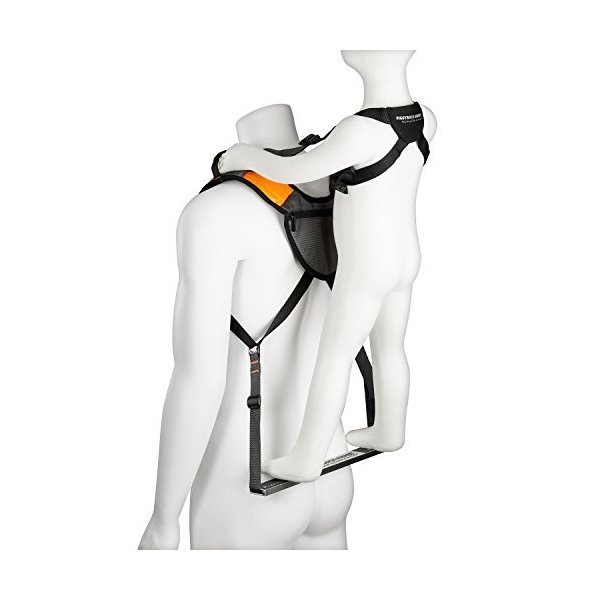 SCOUT (Orange) Piggyback Rider Scout Child Toddler Carrier Backpack for Hands-Free Hiking Trails, Camping, Fitness, Travel, Advent|abareusagi-usa