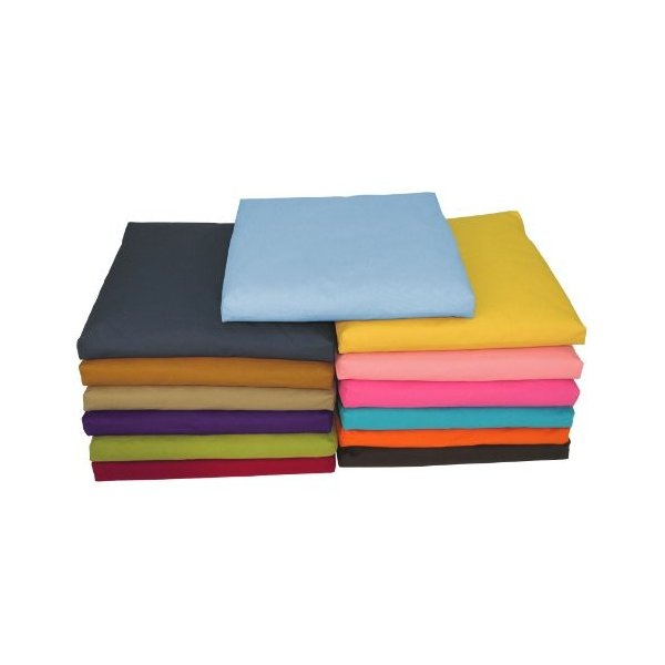 CUSHION & COVER - 24 x 24 x 2 Bean Products Tangerine - Zabuton Meditation Cushion & Cover - Standard Size - 24 x 24 x 2 - Yoga - abareusagi-usa