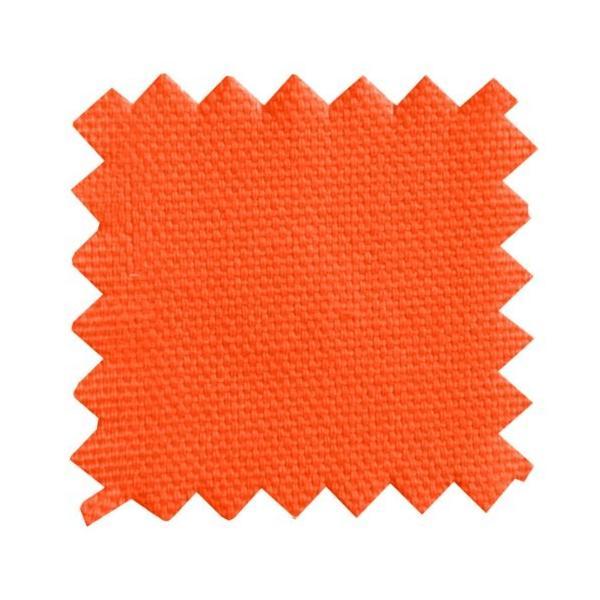 CUSHION & COVER - 24 x 24 x 2 Bean Products Tangerine - Zabuton Meditation Cushion & Cover - Standard Size - 24 x 24 x 2 - Yoga - abareusagi-usa 02