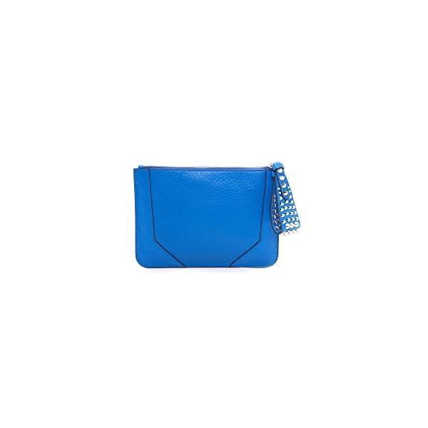 レベッカミンコフRebecca Minkoff Women's Jax Clutch, Bright Blue, One Size