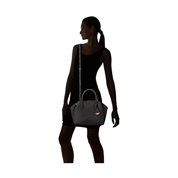 レベッカミンコフRebecca Minkoff Mini Perry Satchel Shoulder Bag, Black, One Size