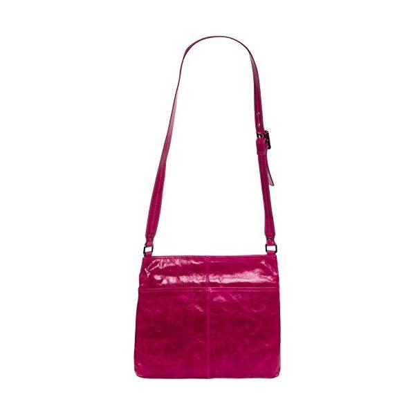 ホボHobo Womens Genuine Leather Lorna Crossbody Shoulder Bag (Merlot)