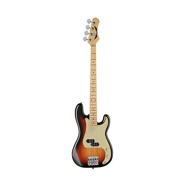 ディーンDean PARAMOUNT M TSB Paramount Maple FB Bass Guitar, 3 Tone Sunburst|abareusagi-usa