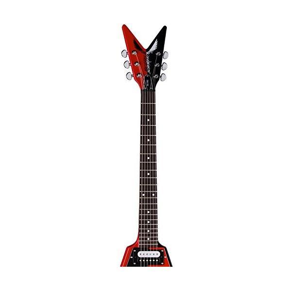 ディーンDean Michael Schenker Retro Electric Guitar Red & Black, Bundle abareusagi-usa 05