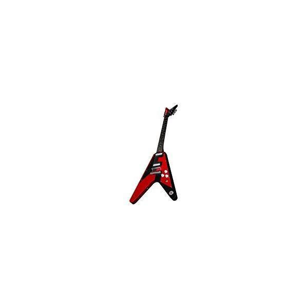 ディーンDean Michael Schenker Retro Electric Guitar Red & Black, Bundle abareusagi-usa 06