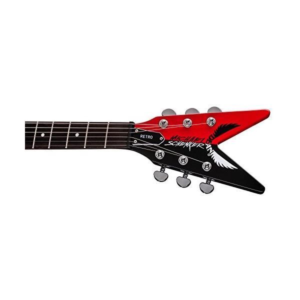 ディーンDean Michael Schenker Retro Electric Guitar Red & Black, Bundle abareusagi-usa 08