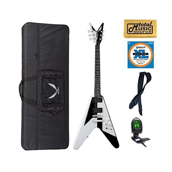 ディーンDean Michael Schenker V Retro Guitar, LW Case Bundle|abareusagi-usa