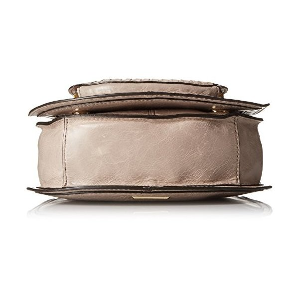 レベッカミンコフRebecca Minkoff Small Vanity Saddle, Mushroom