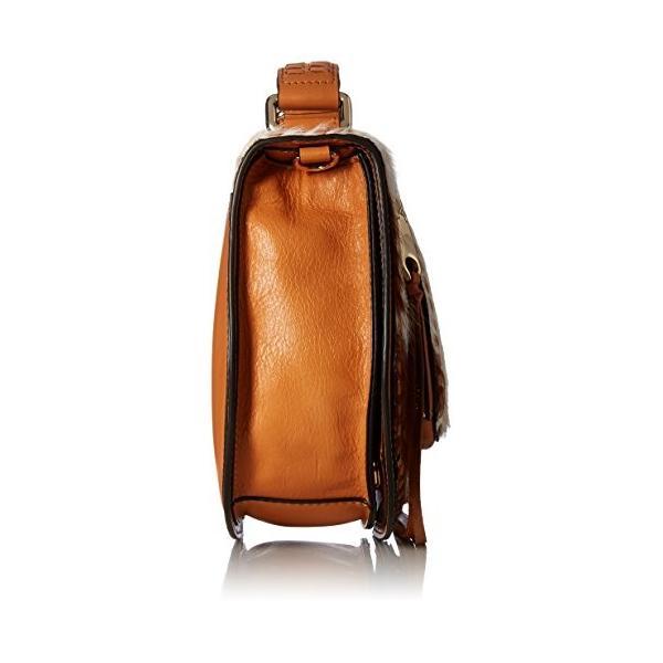 レベッカミンコフRebecca Minkoff Haircalf Small Vanity Saddle, Hair Calf/Sand