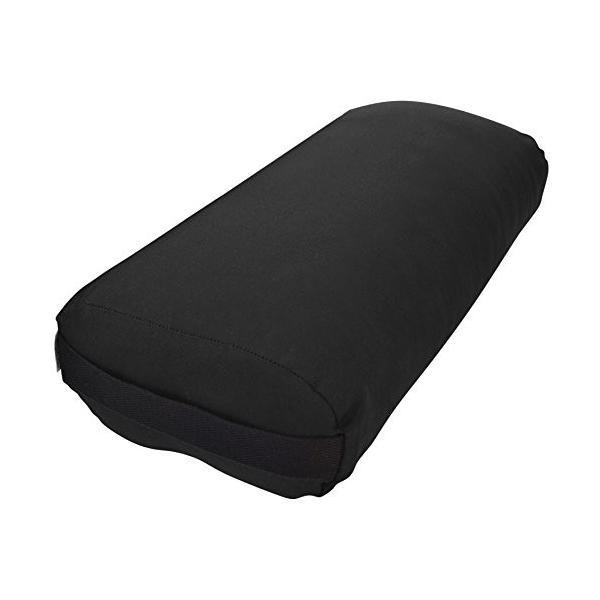 ヨガBean Products Yoga Bolster - Cotton Rectangle - Black|abareusagi-usa|03