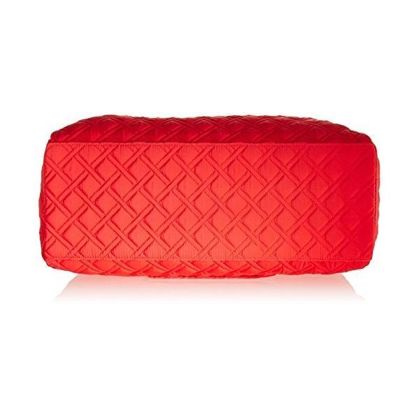 ヴェラブラッドリーVera Bradley Triple Compartment Travel Bag, Canyon Sunset Red