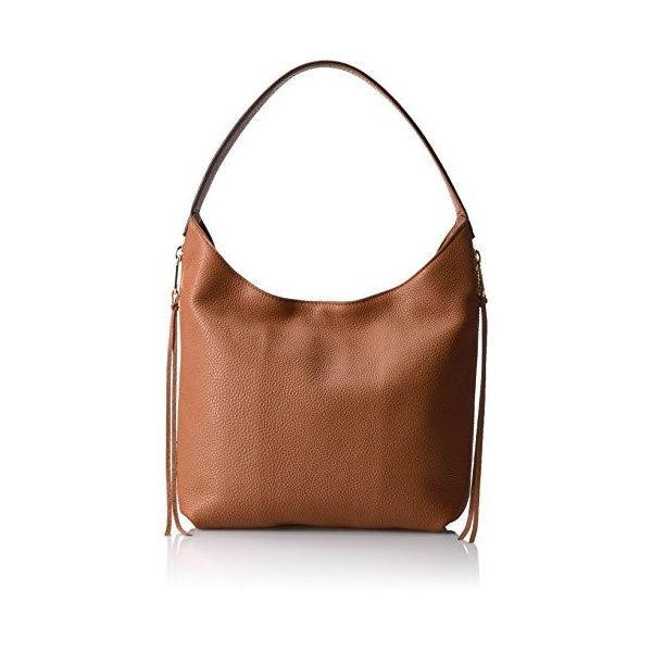 レベッカミンコフRebecca Minkoff Medium Bryn Double Zip Hobo, Almond