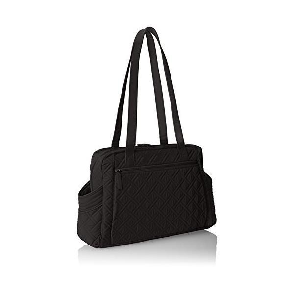 ヴェラブラッドリーVera Bradley Stroll Around Baby 2 Shoulder Bag, Classic Black, One Size
