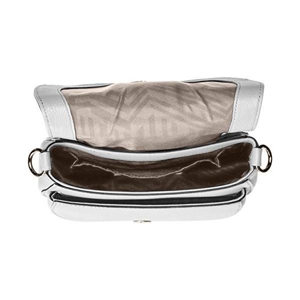 レベッカミンコフRebecca Minkoff Mara Saddle Bag, OPTIC WHITE