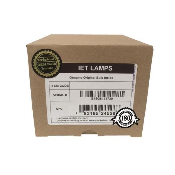 プロジェクターランプReplacement Lamp Assembly with Genuine Original OEM bulb inside for Sony XL5200 DLP TV Projector (Po
