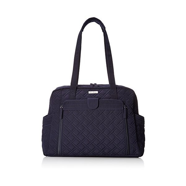 ヴェラブラッドリーVera Bradley Large Stroll Around Baby 2 Shoulder Bag, Classic Navy, One Size
