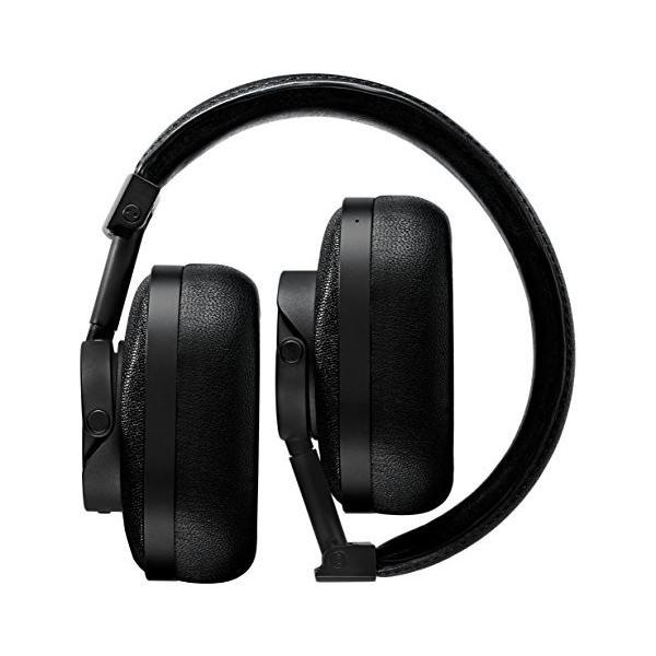 海外輸入ヘッドホンMaster & Dynamic MW60 Premium Leather Wireless Over-Ear Headphones with Bluetooth 4.1 and 45mm Neodymiu
