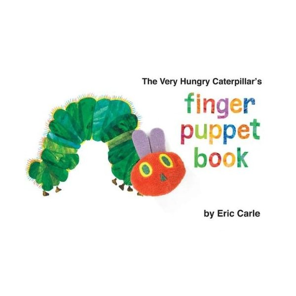 The Very Hungry Caterpillar's Finger Puppet Book (The World of Eric Carle)|abareusagi-usa