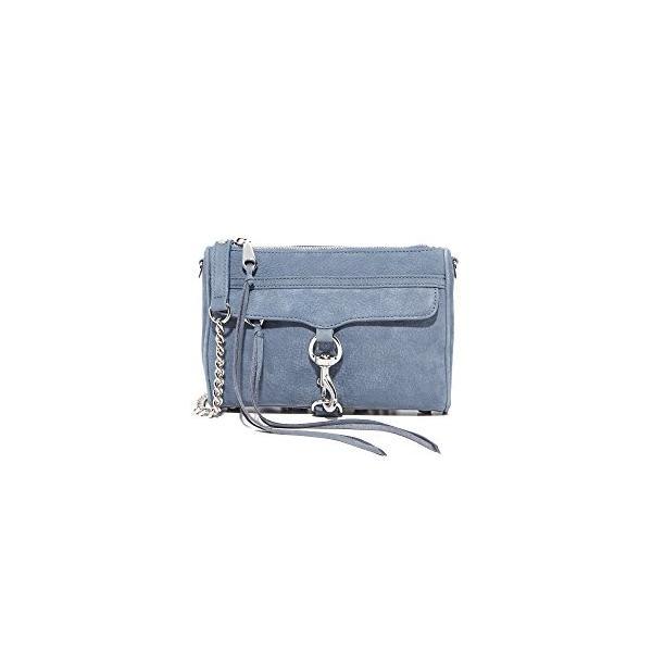 レベッカミンコフRebecca Minkoff Women's Mini Mac Cross Body Bag, Dusty Blue, One Size