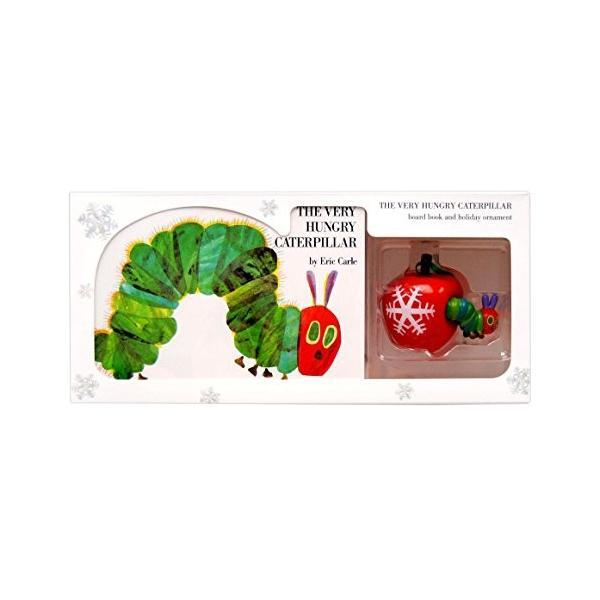 海外製絵本The Very Hungry Caterpillar Board Book and Ornament Package|abareusagi-usa