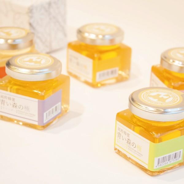 純粋蜂蜜(はちみつ)青い森の極 味比べ 60g×5
