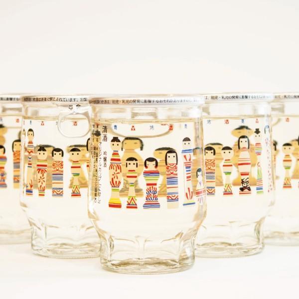 こけしカップ 吟醸酒180ml 六花酒造