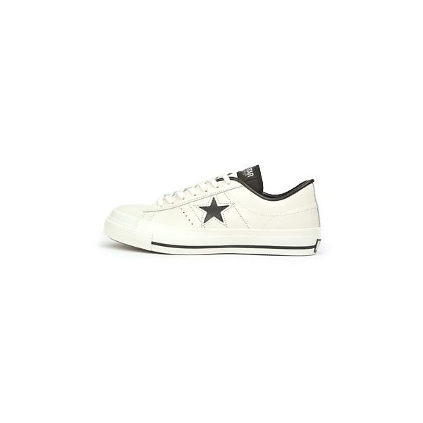 ≪日本製≫ 【CONVERSE】 コンバース ONE STAR J ワンスター J WHITE/BLACK|abc-martnet|02