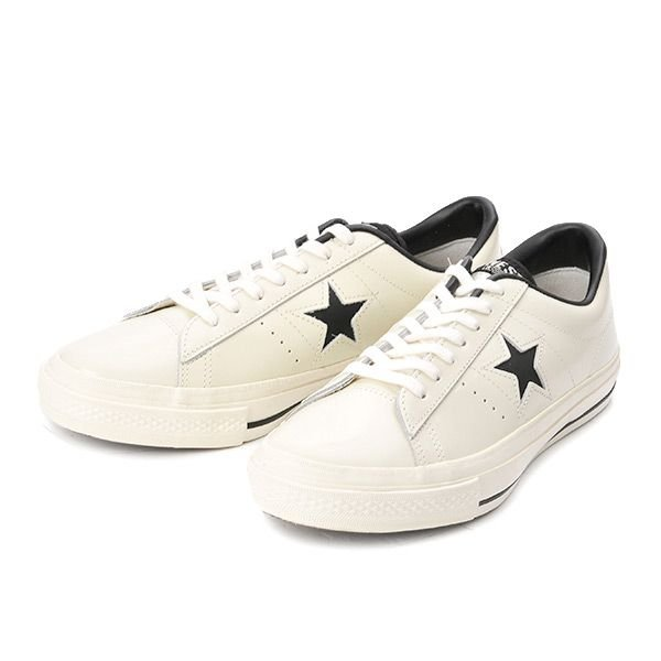 【converse】 コンバース ONE STAR(A) OX ワンスター オックス ABC-MART限定 WHITE/BLACK|abc-martnet