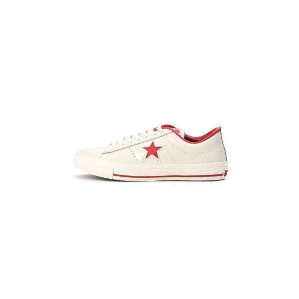 【converse】 コンバース ONE STAR(A) OX ワンスター オックス ABC-MART限定 WHITE/RED|abc-martnet|02