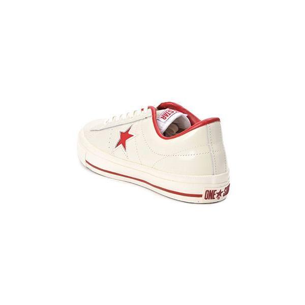【converse】 コンバース ONE STAR(A) OX ワンスター オックス ABC-MART限定 WHITE/RED|abc-martnet|03