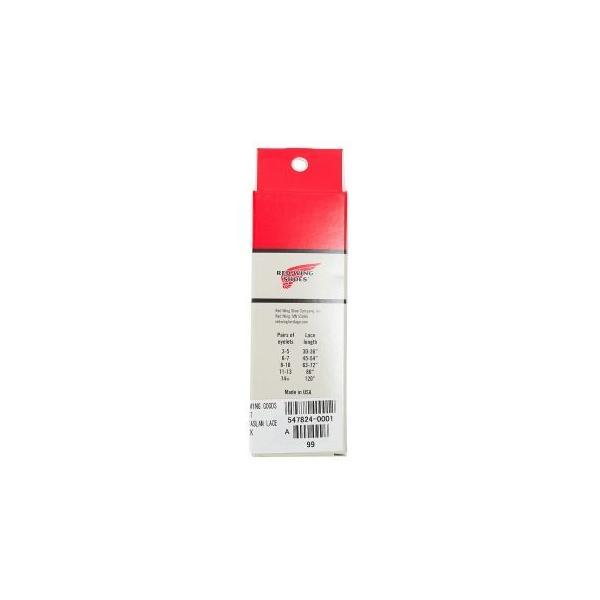 【RED WING GOODS】 レッドウィング グッズ 48 TASLAN LACE 48インチ タスラン レース 97157 BLACK|abc-martnet|02