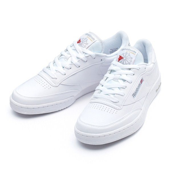 【REEBOK】リーボック CLUB C 85 BASIC クラブC85ベーシック BS7769 ABC-MART限定 WHITE/GREY|abc-martnet