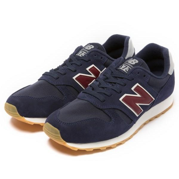 【NEW BALANCE】 ニューバランス ML373NRG(D) 18SS ABC-MART限定 *NAVY/RED(NRG)|abc-martnet