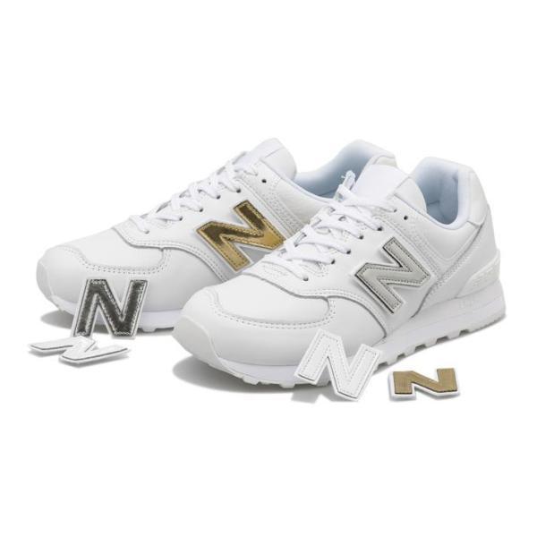 NEWBALANCEニューバランスML574NJ(D)WHITE(NJ)