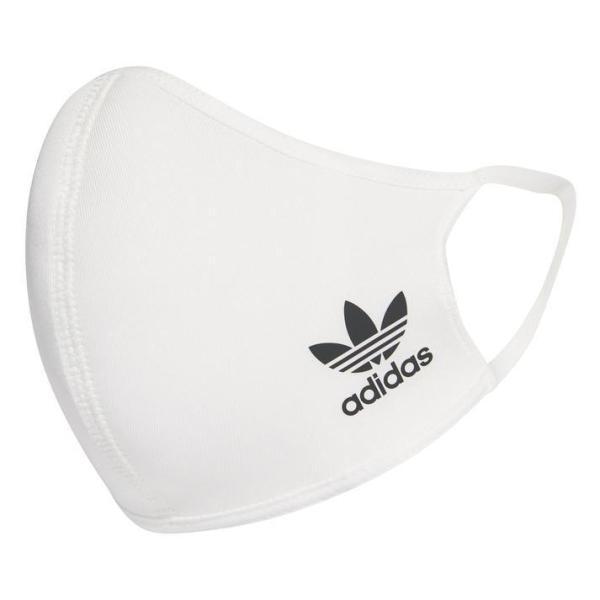 adidasアディダスFacecoverKids(OG)フェイスカバー3枚組HB7855WHITE/BLACK