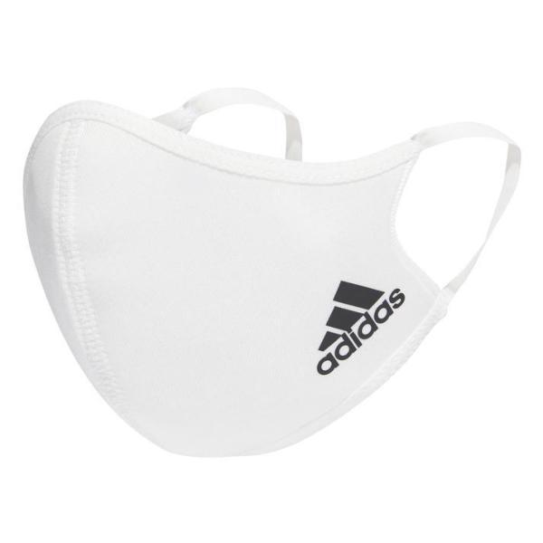 adidasアディダスFacecoverKids(PF)フェイスカバー3枚組H34588WHITE