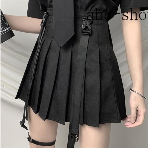 サスペンダースカートガーターベルトスカートスカートミニミニ丈ミニスカートショート女性服wear.com