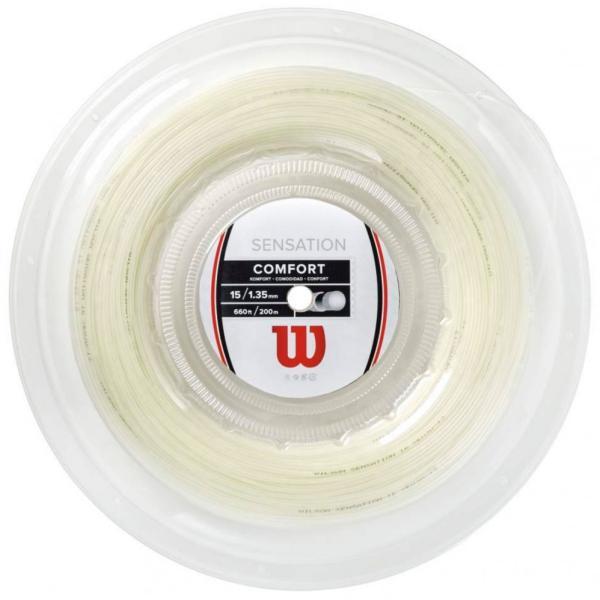 [ガット]ウィルソン センセーション(Wilson SENSATION)1.25/1.30mm 200m ロール 硬式テニス ガット ストリング